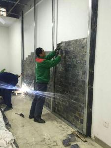 工程案例铅板雷竞技下载施工装饰
